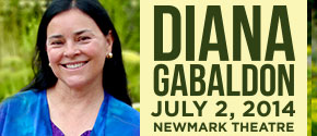 Powell's Presents... Diana Gabaldon at the Newmark Theatre!