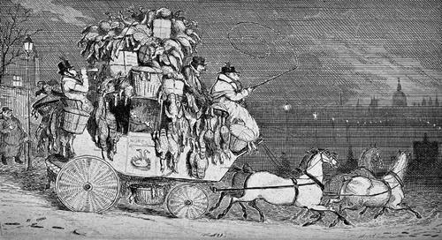 Norfolk Coach at Christmas
