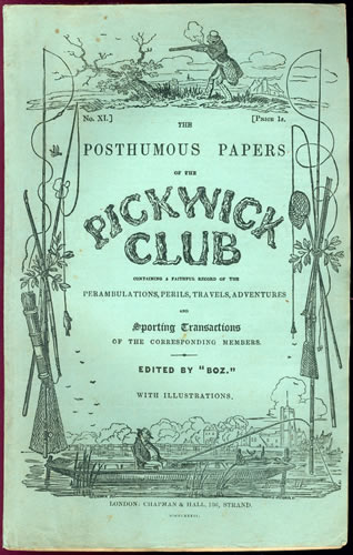 Pickwick Papers Wrapper