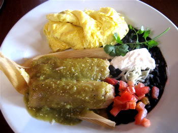 Breakfast Tamales from Isabel's Cantina