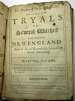 Salem Witch Trials | Puritan Primary Source Non Fiction | Cotton Mather