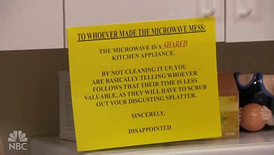 how to clean microwave after burning food