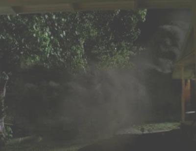Smokey freightraining through Otherville