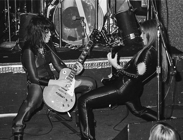 Joan Jett and Lita Ford