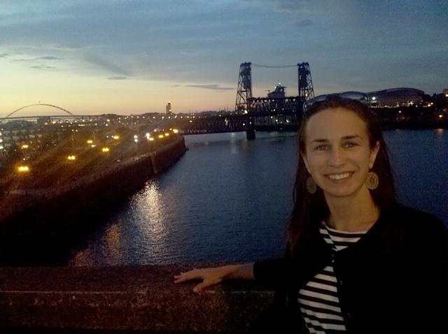 Adelle Waldman in Portland