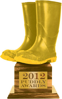 The 2012 Puddly Awards