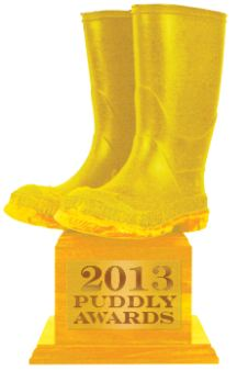 The 2013 Puddly Awards