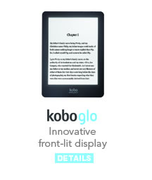 Kobo Glo: Innovative front-lit display