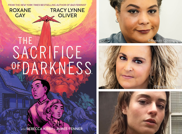 Roxane Gay, Tracy Lynne Oliver, and Rebecca Kirby