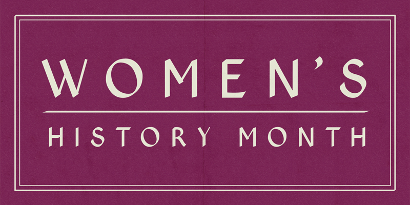 Women's History Month: Rediscovered Writers