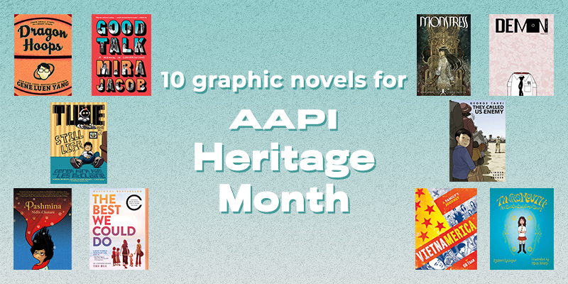 10 Graphic Novels for Asian American Pacific Islander Heritage Month