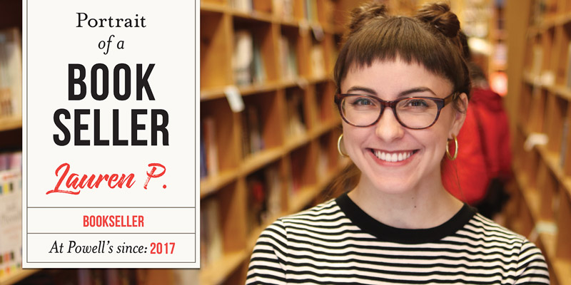 Portrait of a Bookseller: Lauren P.