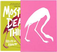 Kristen Arnett, author of Mostly Dead Things