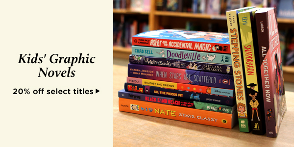 Save 20% on bestselling new kids' graphic novels