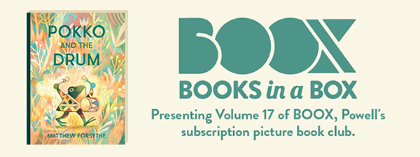 Boox Volume 17, Pokko and the Drum by Matthew Forsythe