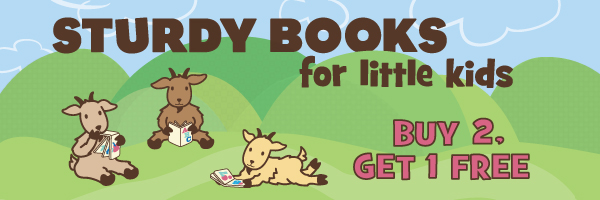 Board Books Sale: Buy 2 Select Titles, Get 1 Free