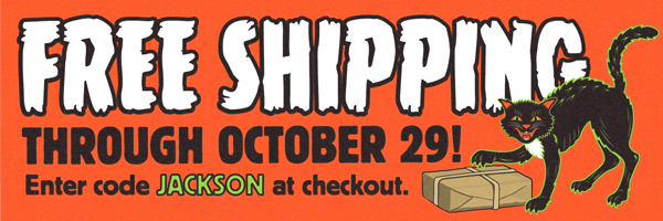 Free Shipping through Oct. 29: Enter code JACKSON at checkout
