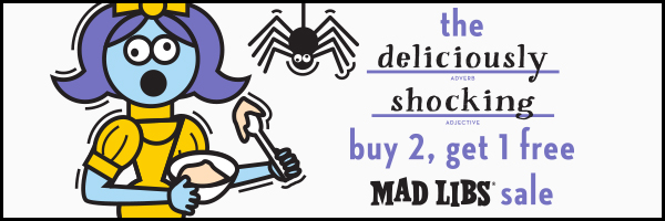 the deliciously shocking: Buy 2, Get 1 Free Mad Libs Sale