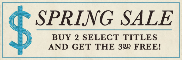 Spring Sale: Buy two select titles and get the third free!