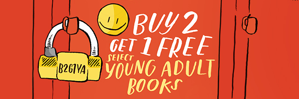 Buy 2, Get 1 Free on Select Young Adult Books