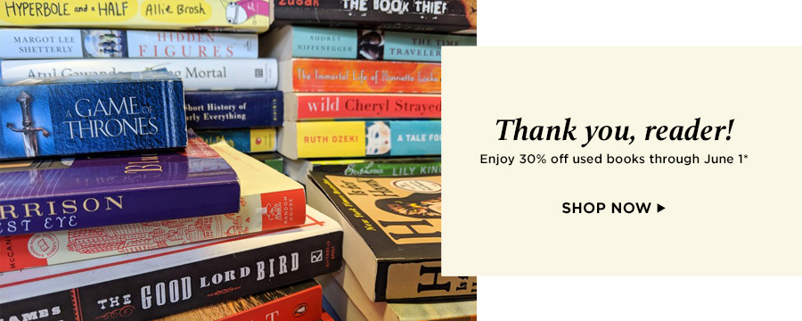 Save 30% on used books