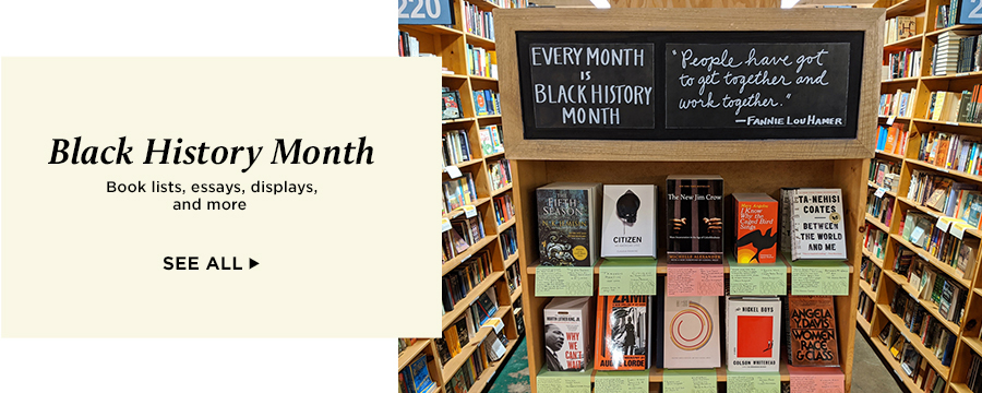 Black History Month: Book lists, essays, displays, and more