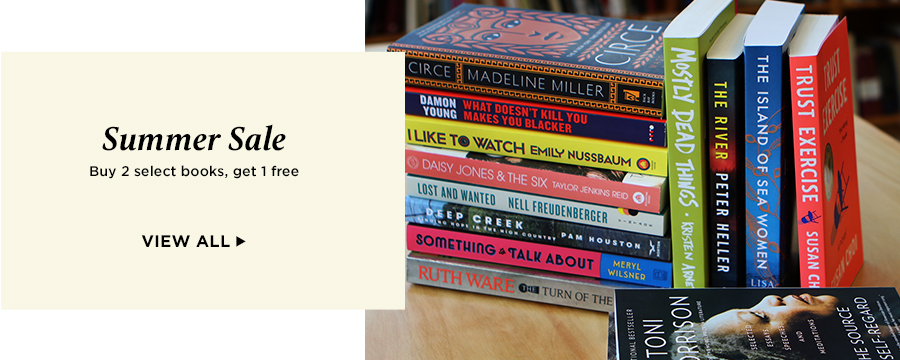 Summer Sale: Buy 2 select books, get 1 free