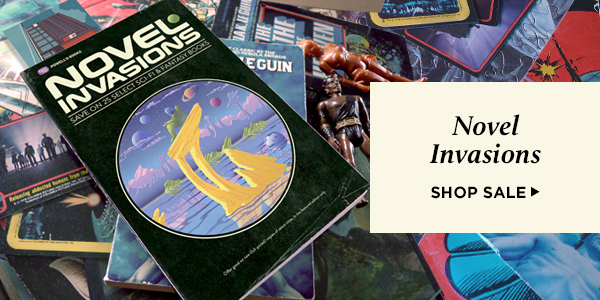 Novel Invasions: Save on select sci-fi and fantasy books