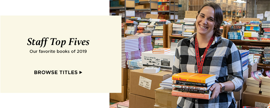 Staff Top Fives: Our favorite books of 2019
