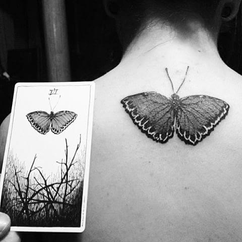 A Wild Unknown inspired tattoo.
