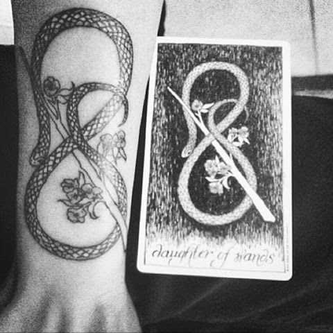 A second Wild Unknown inspired tattoo.