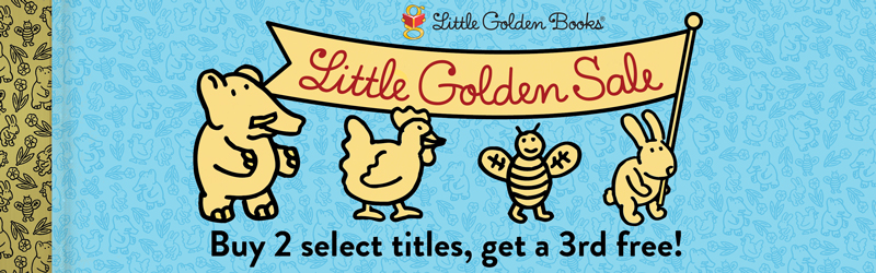 Little Golden Sale: Buy 2 select titles, get a 3rd free!