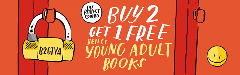 The Perfect Combo: Buy 2 Get 1 Free Select Young Adult Books