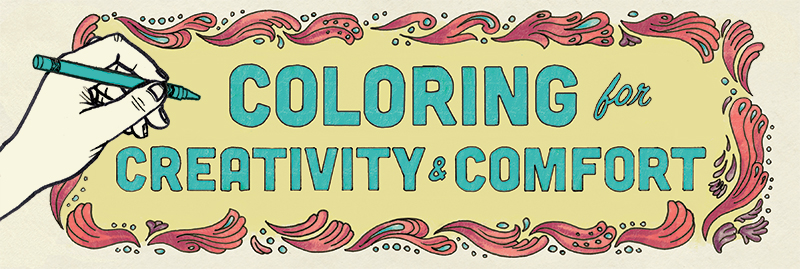 Coloring Books For Creativity And Comfort