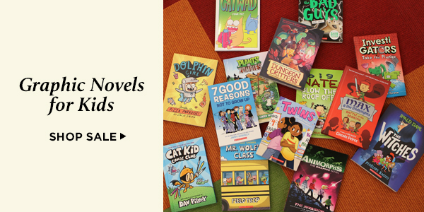Save 20% on bestselling new graphic novels for kids