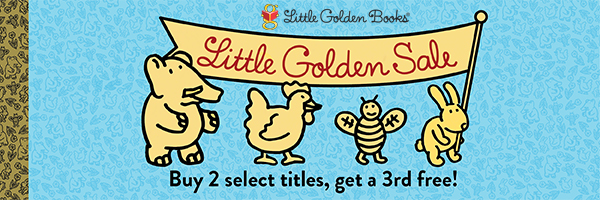 Little Golden Sale: Buy 2 Select Titles, Get a 3rd Free