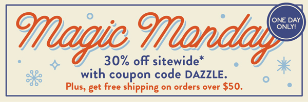 30% Off Sitewide with Coupon Code DAZZLE