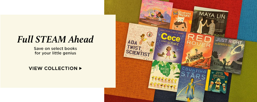Full STEAM Ahead: Save on select books for your little genius