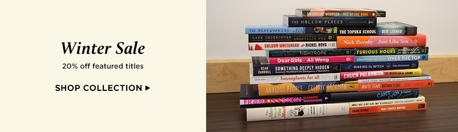 Save 20% on bestselling new and used winter reading titles