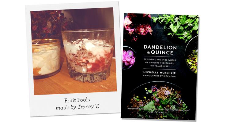 Dandelion & Quince; Ground Cherry Fools made by Rhianna W.