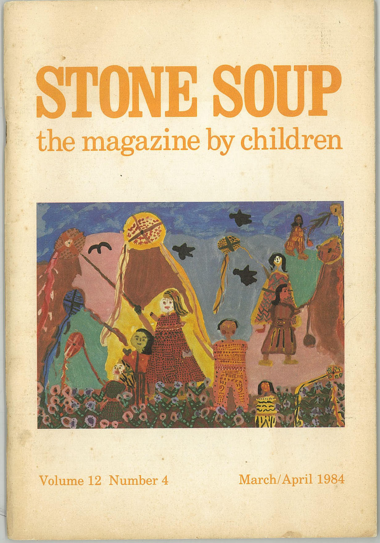My poem in Stone Soup and its cover.