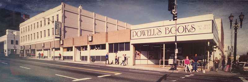 Historical photo of Powell's Books City of Books