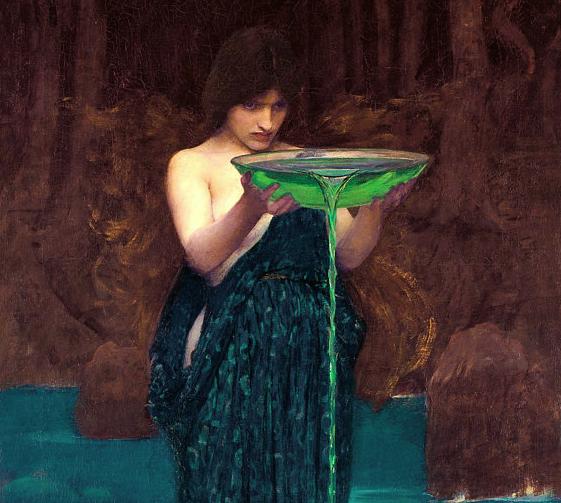 Circe Invidiosa (1982) by John William Waterhouse.