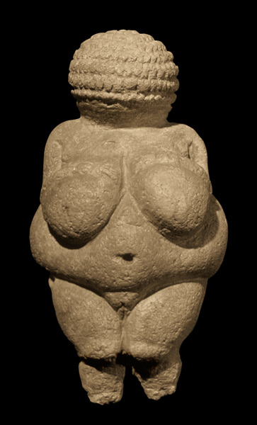 Venus of Willendorf.