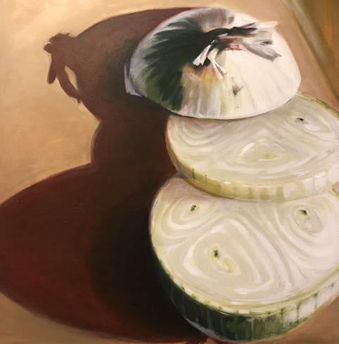An Onion by Ann Bullwinkel