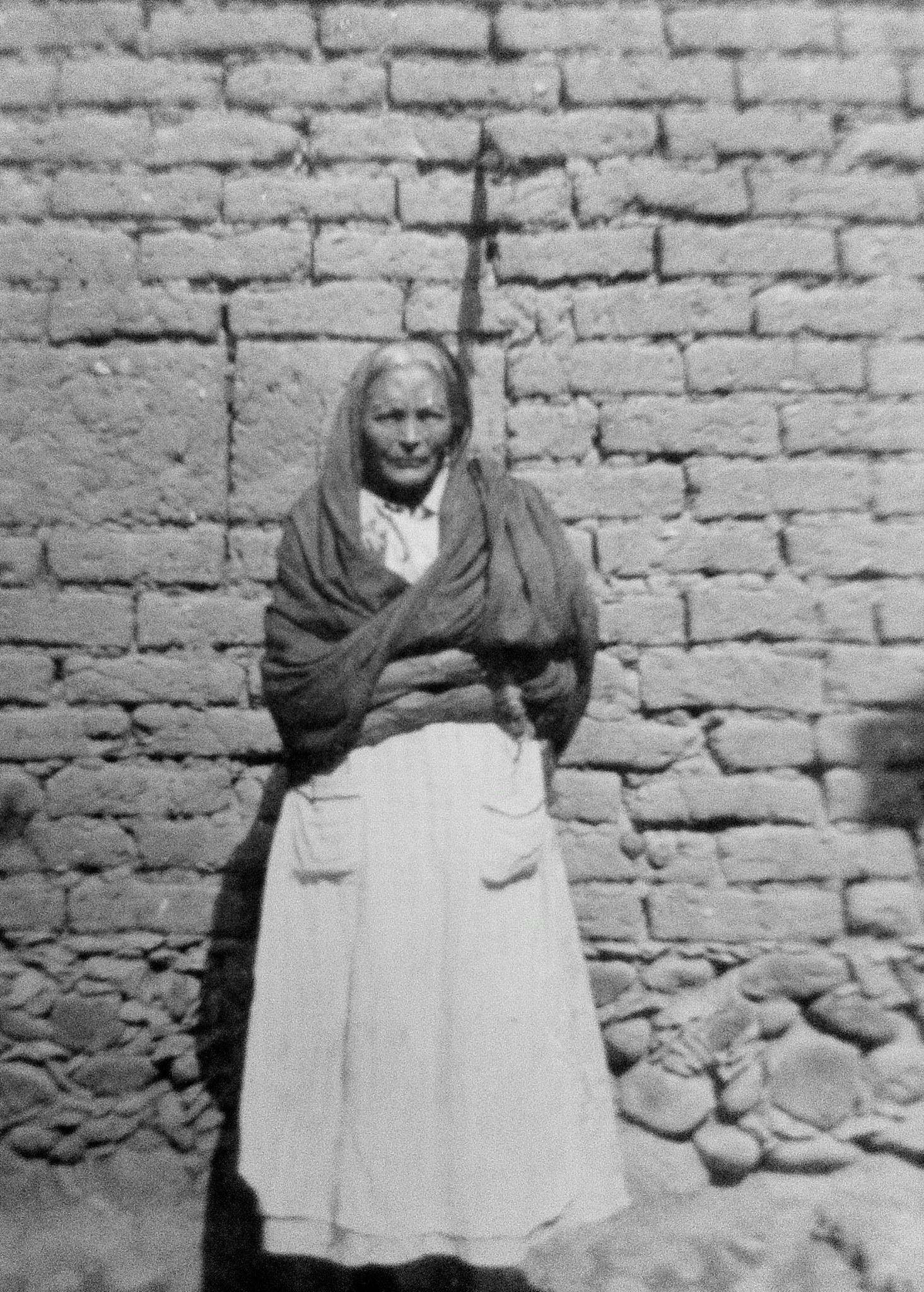 My great, great grandmother Juanita Velasquez.
