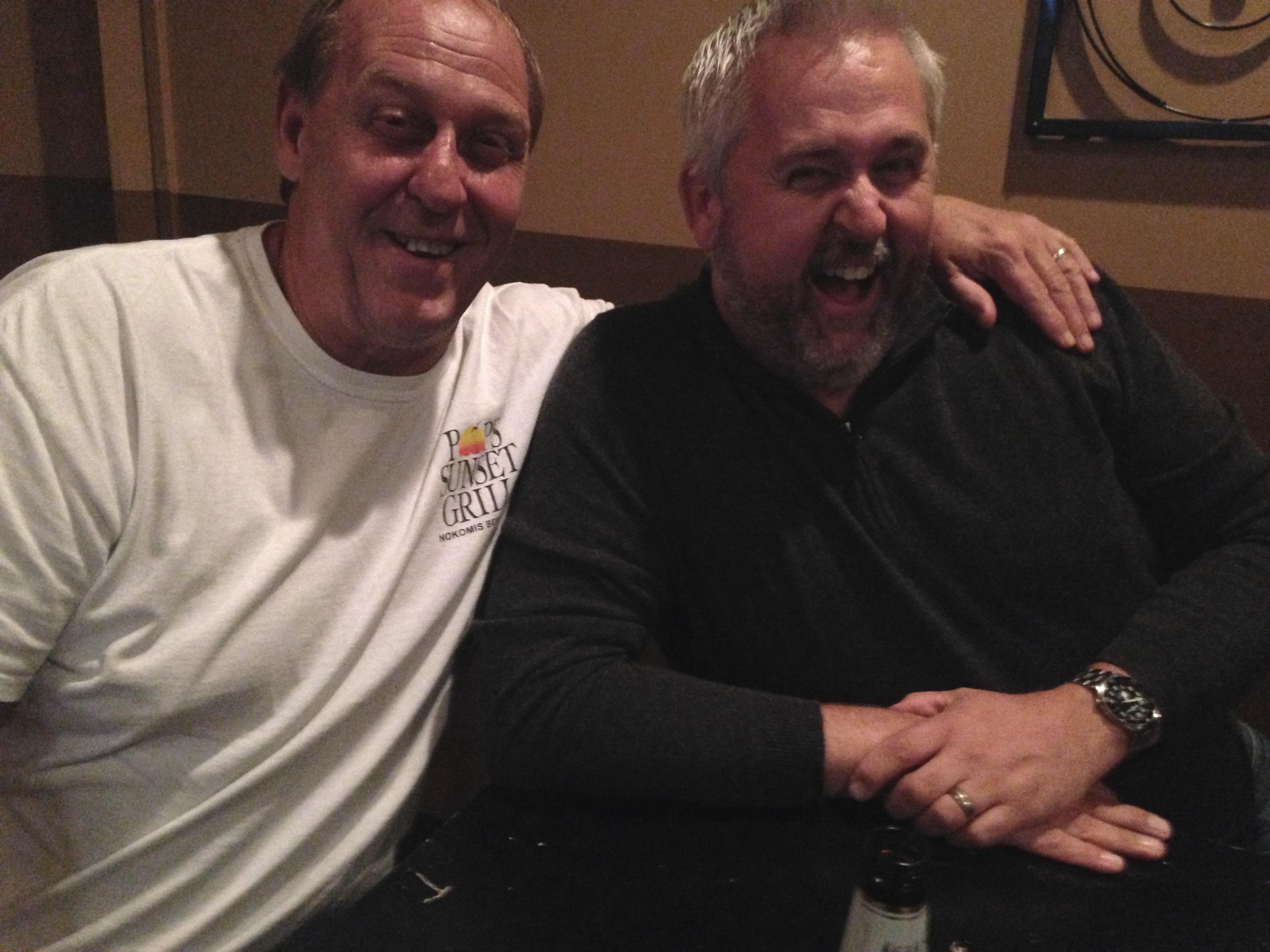 IMG: Keith and John