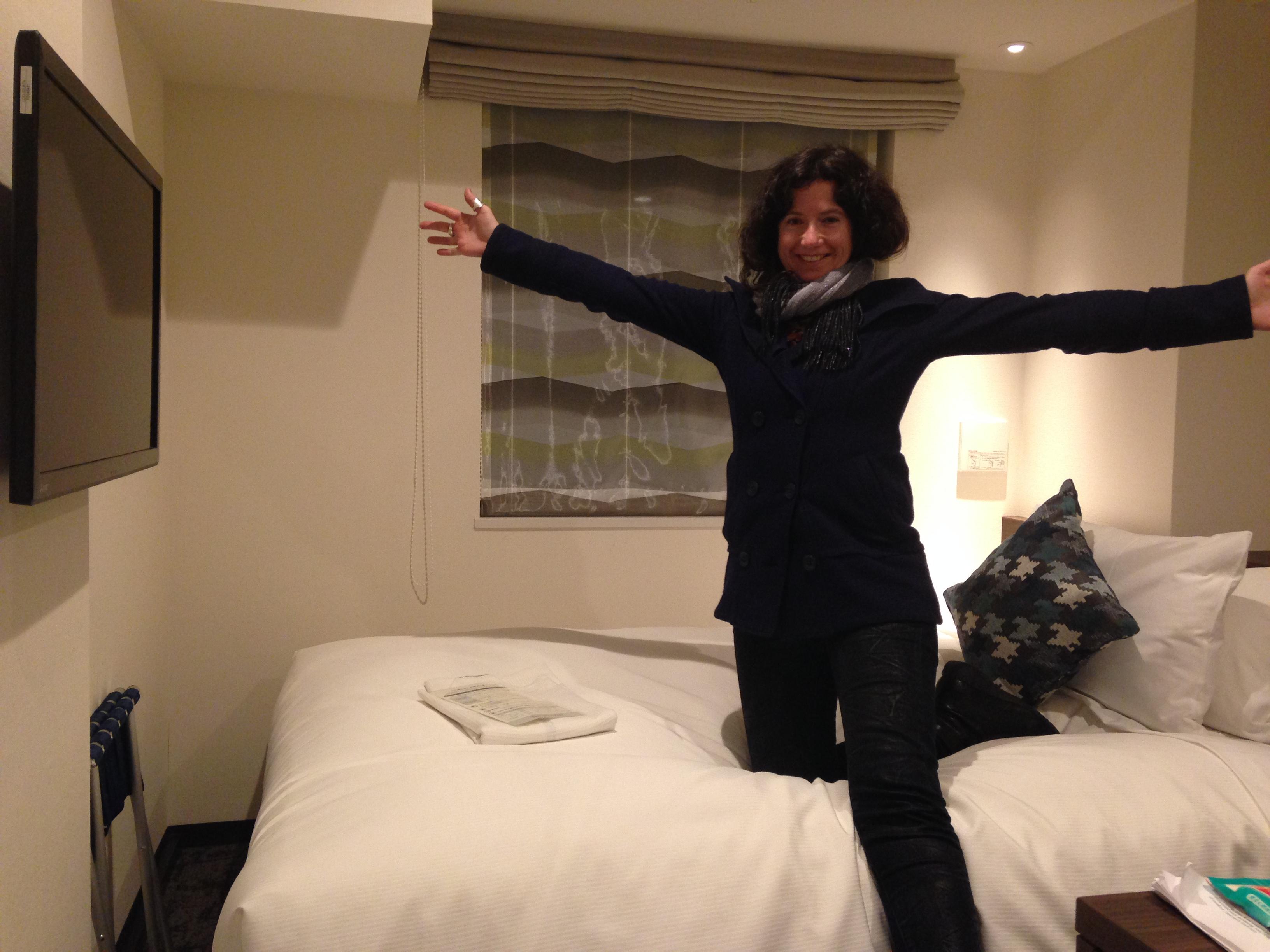 IMG: Liz Crain at the Tokyo Hotel