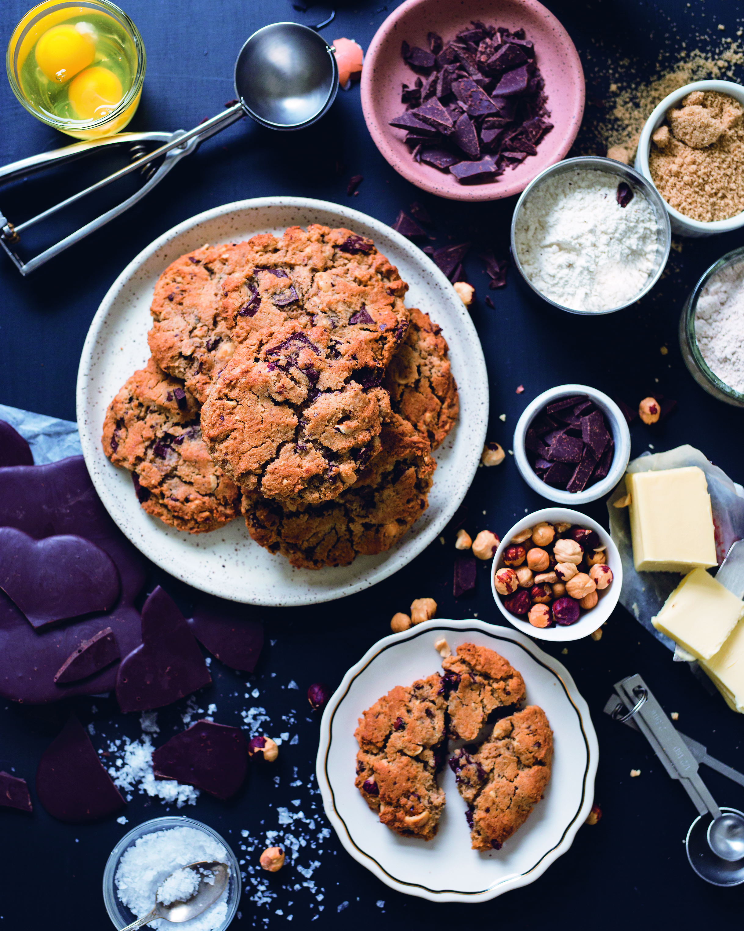 IMG: Little T Baker Chocoltae Chunk and Roasted Hazelnut Cookies.