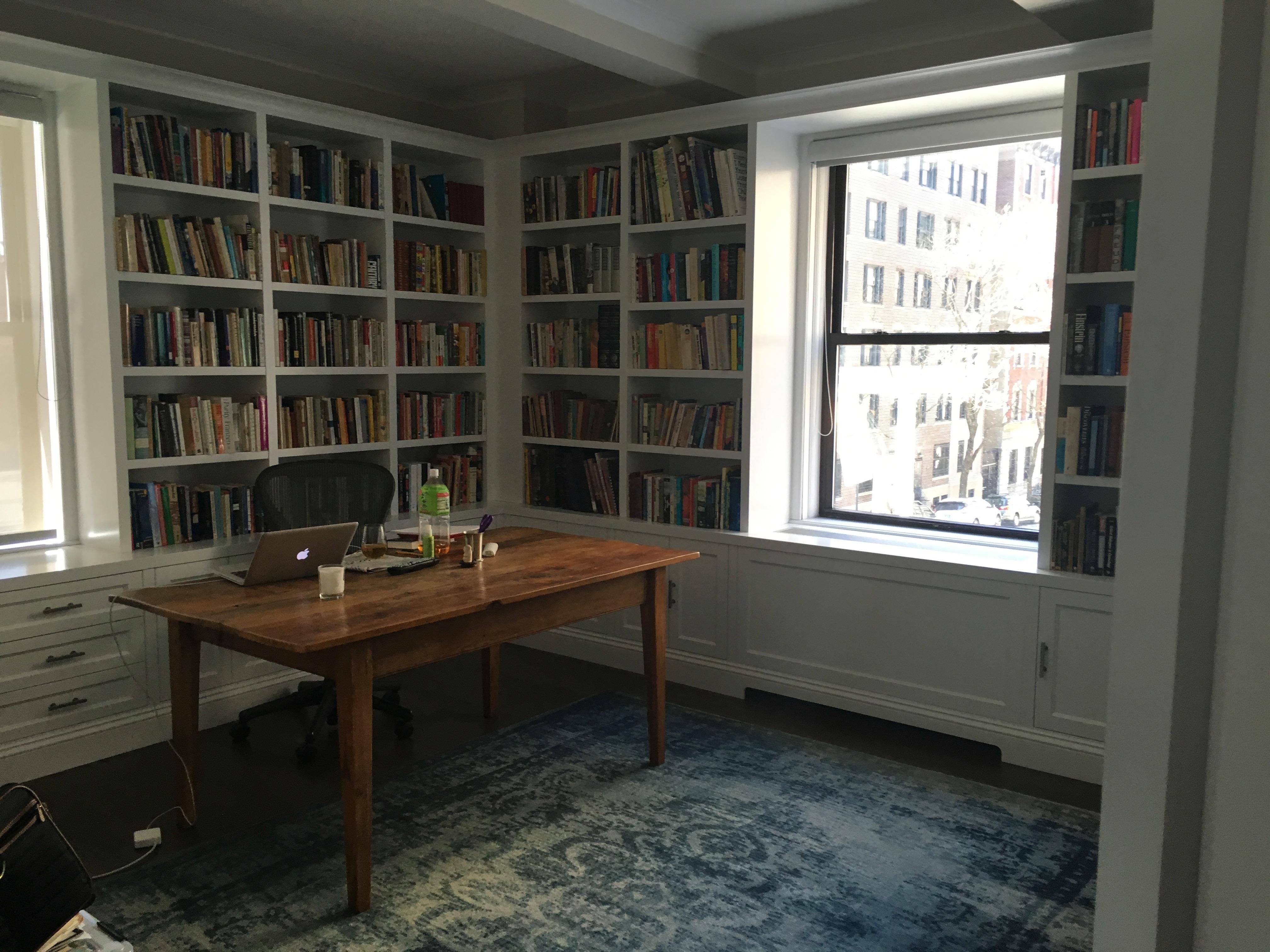 Meg Wolitzer's office.